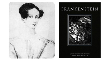 Naughty 19 Mary Shelley at 19 years old writes FRANKENSTEIN
