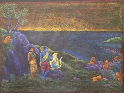 Hanuman Rama Sita
