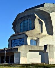 Michael Goetheanum overlooks the West Window