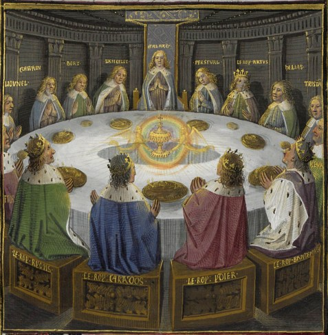 twelve and thirteen grail-round-table