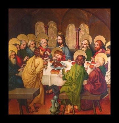 twelve lazarus John Schongauer The Last Supper