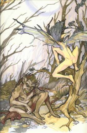 Caliban earth Ariel sylph Air Ahrimanic and Luciferic