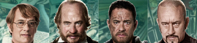 Drama study incarnation and many disguises tom hanks Cloud Atlas
