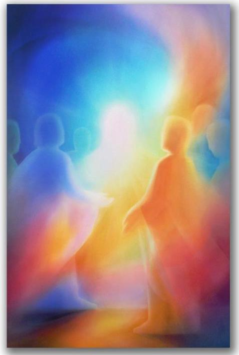 Welcome guest unannounced Etheric Christ