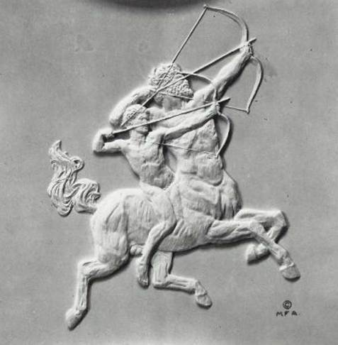 Aggies Chiron the Centaur and training Achilles
