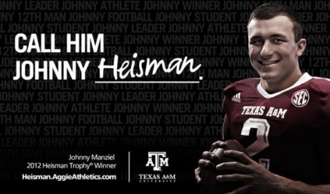 Aggies Johnny Heisman
