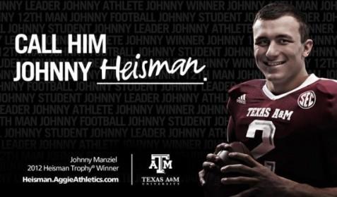 Aggies Johnny Heisman