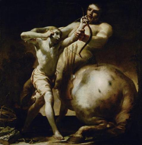 Aggies Chiron and the Etheric Centaur Giuseppe Maria Crespi