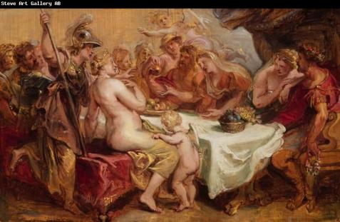 Aggies Marriage of Etheric Body gifts Peleus and Thetis Peter Paul Rubens