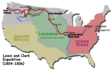 Age of America Lewis and Clark 1a