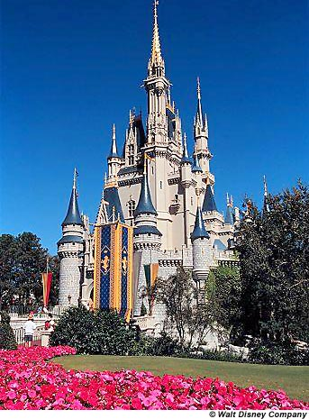 Age of America Castle Merveil Disney World