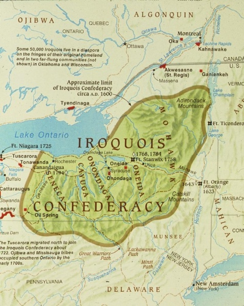 Age of America Iroquois Nation 1st Consciousness Soul model in the West