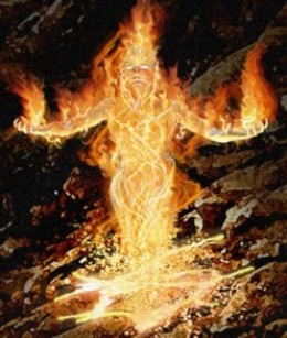 Age of America Salamander Archangel fire spirit