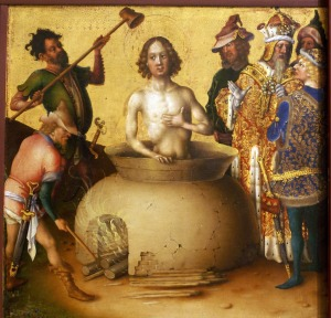 Age of America stephan-lochner-ca-1410-1451 St. John