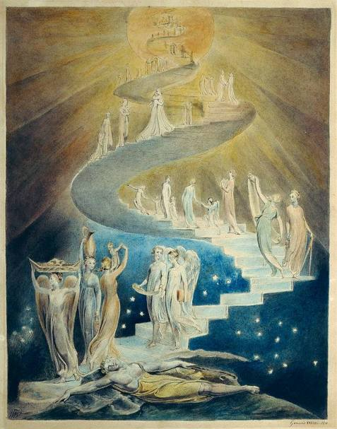 Age of America stairway to heaven Wm Blake
