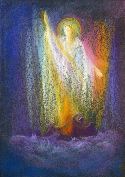 Risen Christ on the Etheric Ocean 5th 6th 7th ages David Newbatt