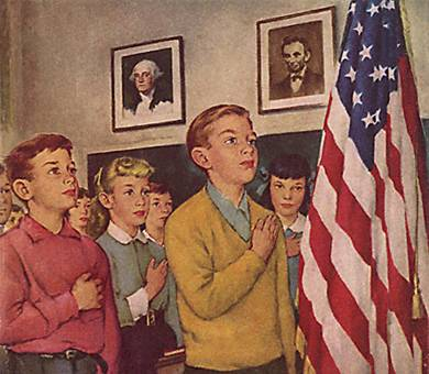 Age of America 2 Norman Rockwell