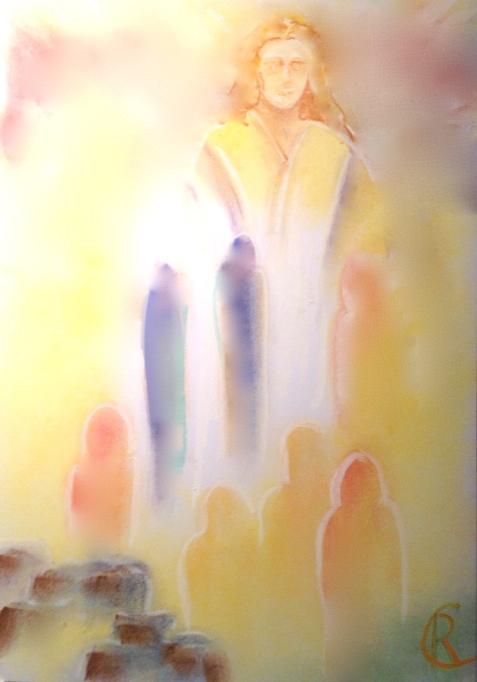 Age of America 2 Rita de Cassia Countenance of Christ