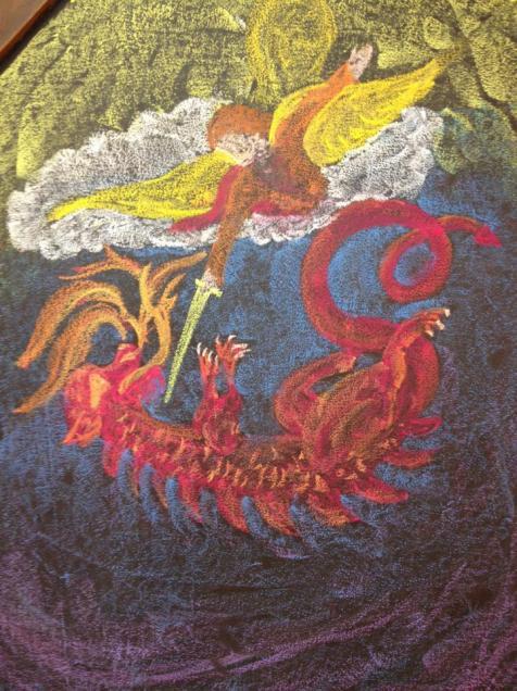 Waldorf Michael and Dragon