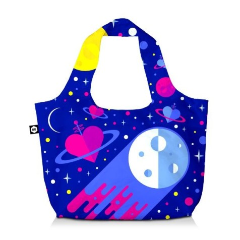 Age of America 3 cosmic tote traveler bag