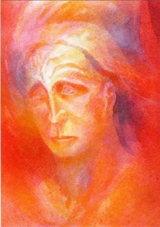 Risen Etheric Christ portrait