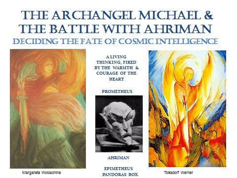 Age of America 3 Cosmic Michael Intelligence or Ahrimanic Intelligence