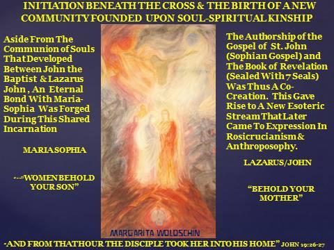 Age of America 3 Novalis Manas St. John Sophia Christ Sophia Astral