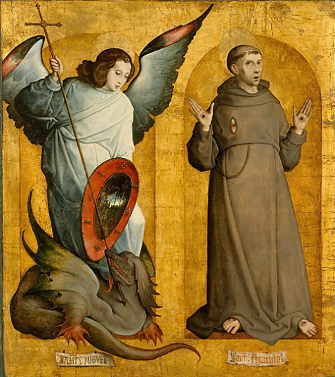 Stigmata Michael the Archai and St. Francis